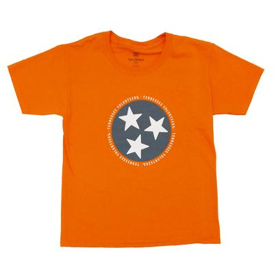 Tennessee Youth State Tristar Logo T-shirt