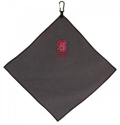 NC State Microfiber Golf Towel (15