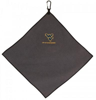 West Virginia Microfiber Golf Towel (15