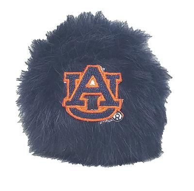 Auburn Rabbit Fur Puff Hair Accessory