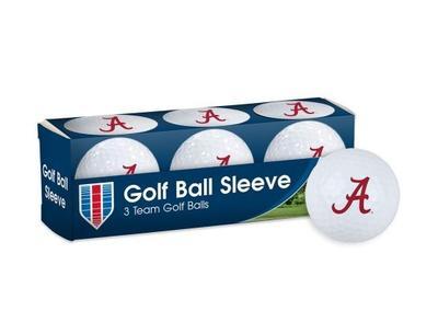 Alabama Golf Balls 3pk