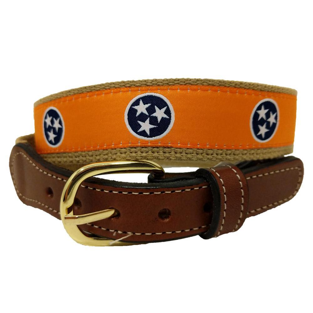 Tennessee State Flag Tristar Belt