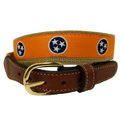 Tennessee State Flag Tristar Belt