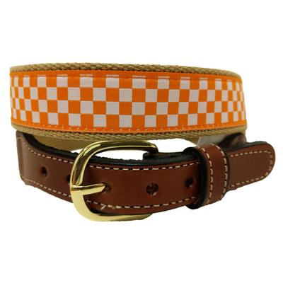Tennessee Checkerboard Belt