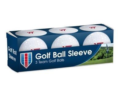 Virginia Tech Golf Balls 3pk