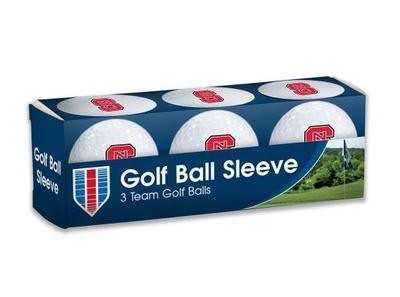 NC State Golf Balls 3pk