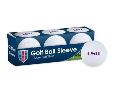 LSU Golf Balls 3pk