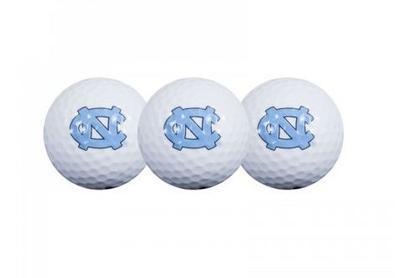 UNC Golf Balls 3pk