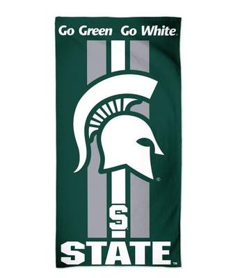 Michigan State Fiber Beach Towel (30