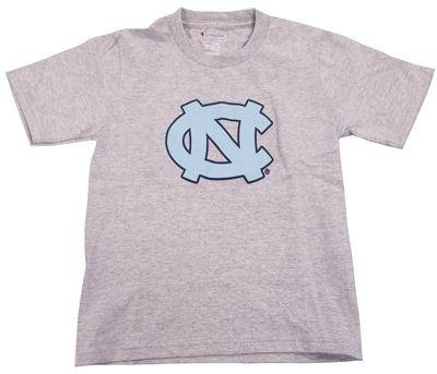 UNC Youth Primary Logo Tee GREY