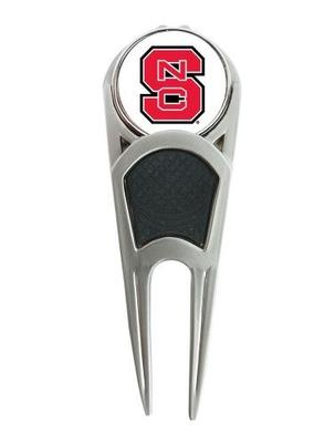 NC State Golf Ball Mark Repair Tool