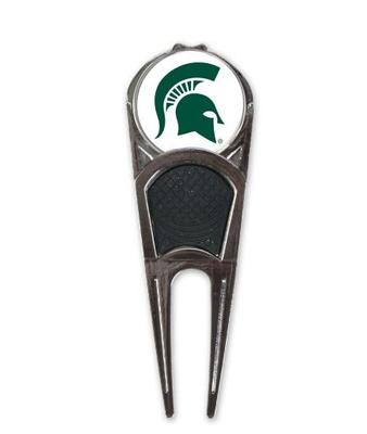 Michigan State Golf Ball Mark Repair Tool