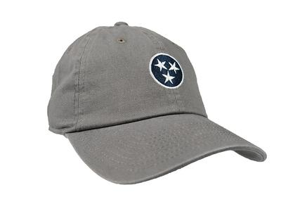 Grey Tennessee Tristar Cap By Volunteer Traditions