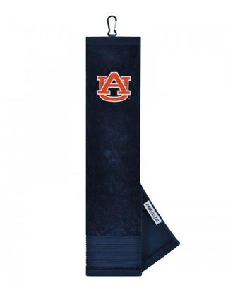 Auburn Golf Towel with Carabiner