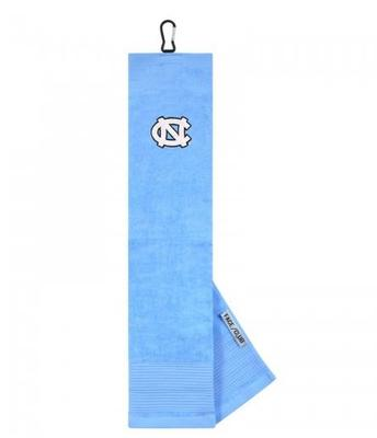 UNC Golf Towel with Carabiner