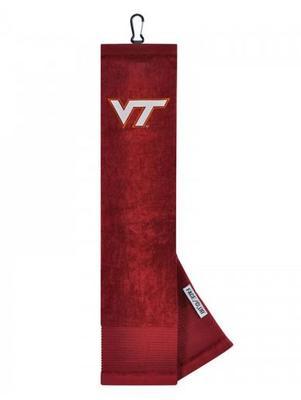 Virginia Tech Golf Towel with Carabiner