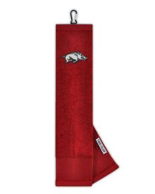 Arkansas Golf Towel with Carabiner