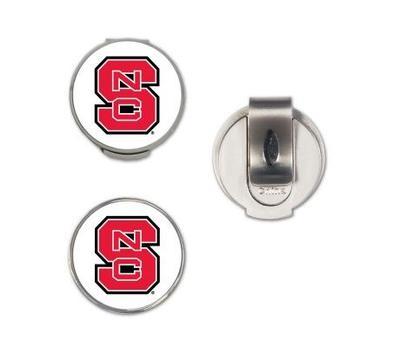 NC State Magnetic Hat Clip & Marker Set