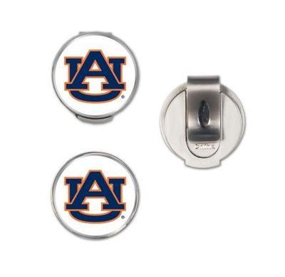 Auburn Magnetic Hat Clip & Marker Set