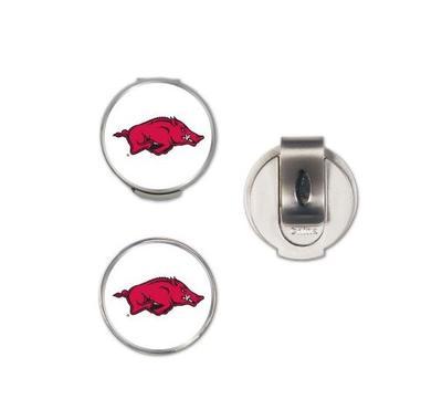 Arkansas Magnetic Hat Clip & Marker Set
