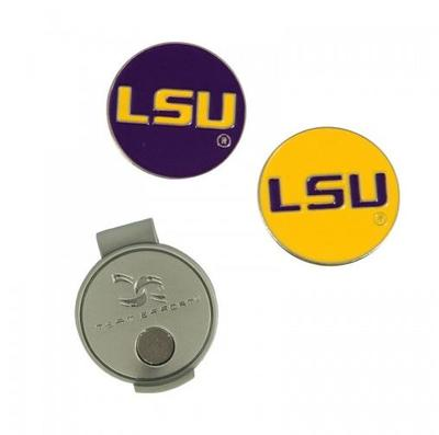 LSU Magnetic Hat Clip & Marker Set