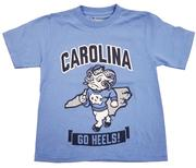 Unc Champion Youth Rameses Go Heels Tee
