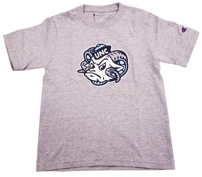 UNC Youth Rams Head Logo Tee