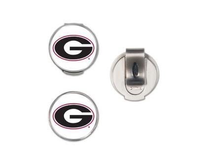Georgia Magnetic Hat Clip & Marker Set