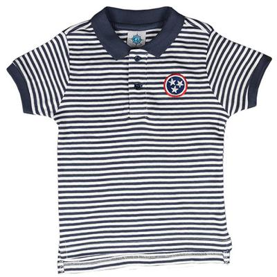 Tennessee Toddler Tristar Striped Polo Shirt