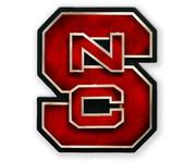 Nc State Block S Logo 3d Metal Art - 18.5