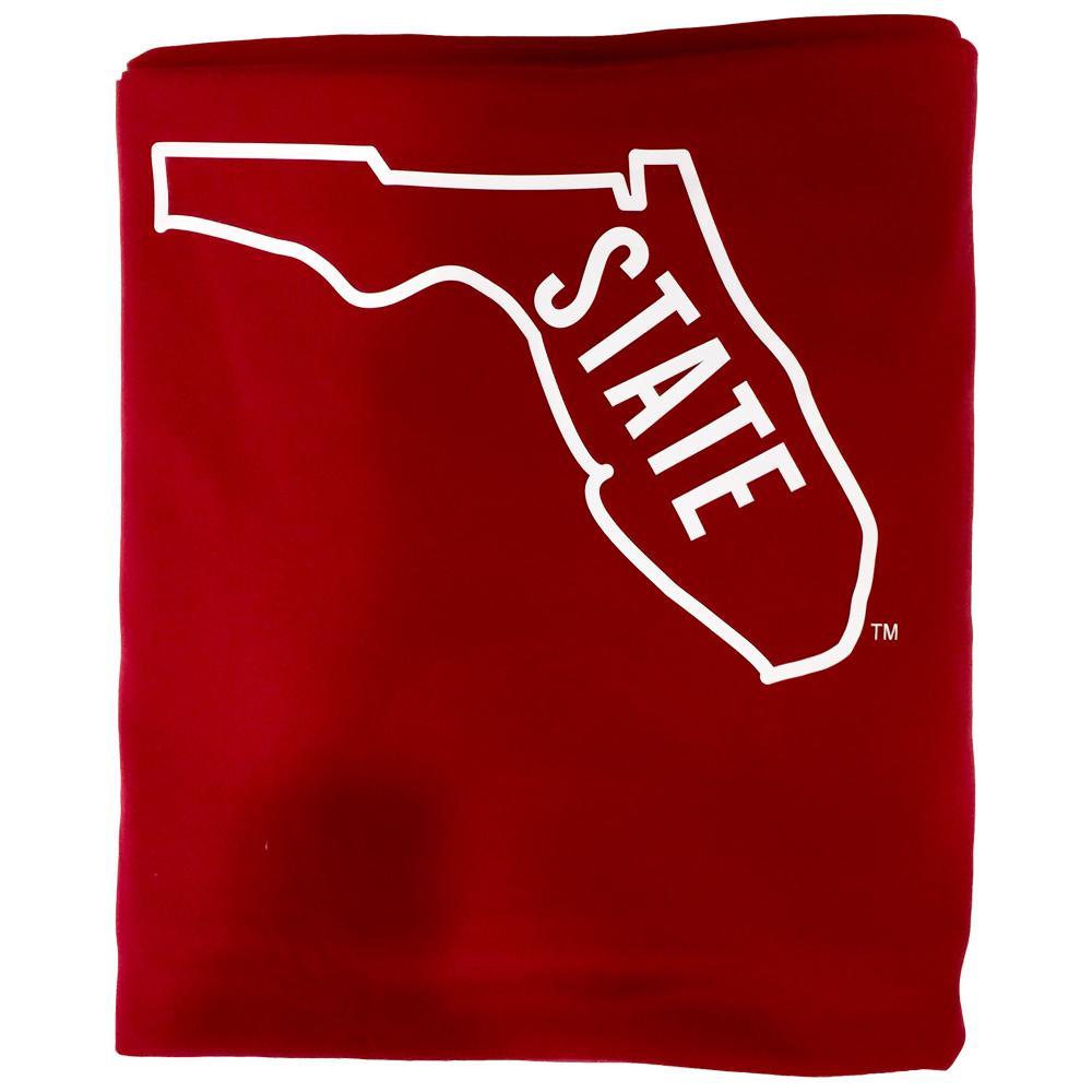 Florida State Vault Logo Sweatshirt Blanket