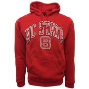 Nc State Arch Logo Hooded Sweatshirt