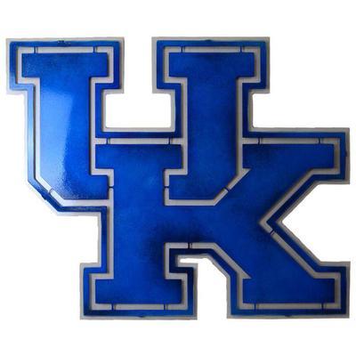 Kentucky Block UK Logo 3D Metal Art - 21