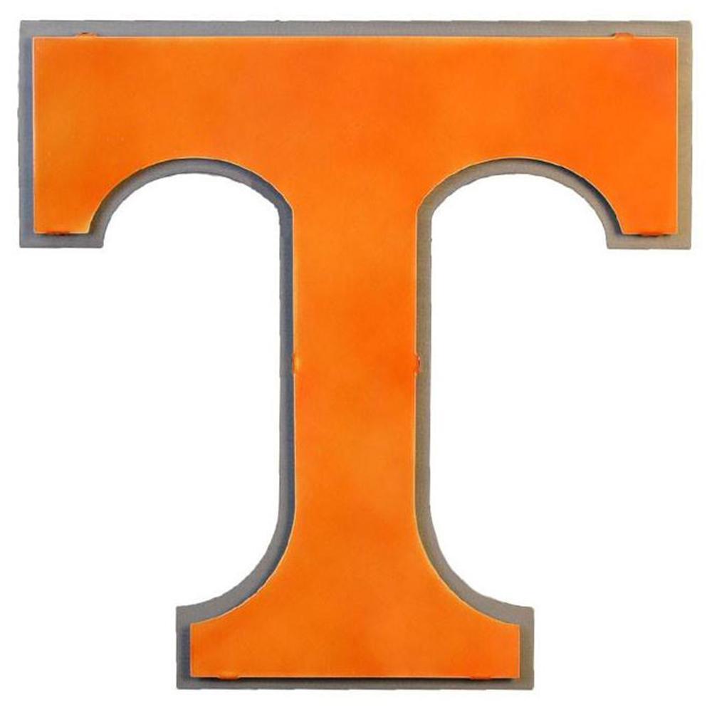 Tennessee Power T Logo 3d Metal Art - 17.5