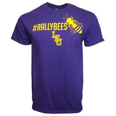 LSU #Rallybees Short Sleeve T-shirt