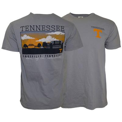 Tennessee Comfort Colors Knoxville Skyline Tee