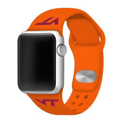 Virginia Tech Apple Watch Silicone Sport Band 42mm