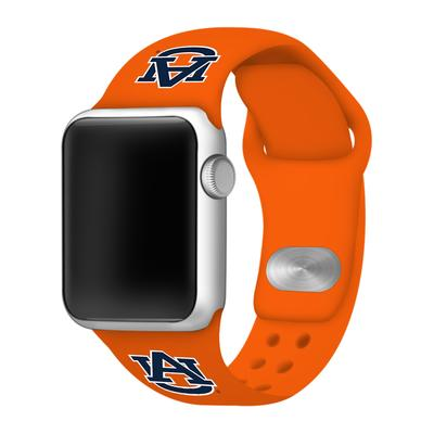 Auburn Apple Watch Silicone Sport Band 42mm