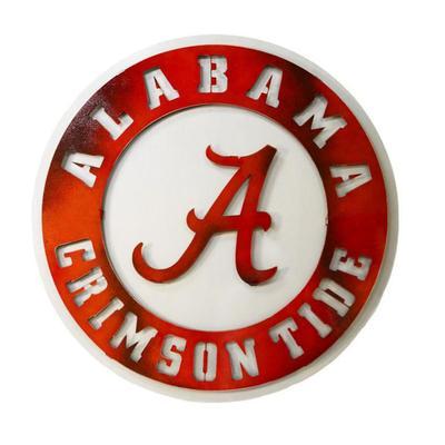 Alabama Crimson Tide Logo 3D Metal Art - 18