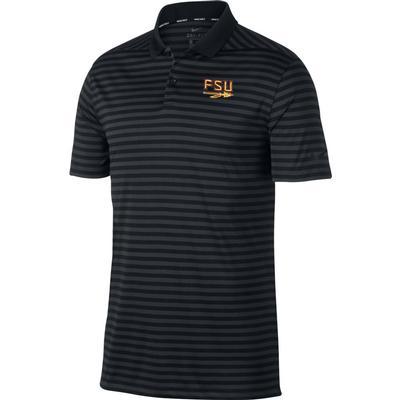 Florida State Nike Golf Arrow Logo Dry Victory Stripe Polo