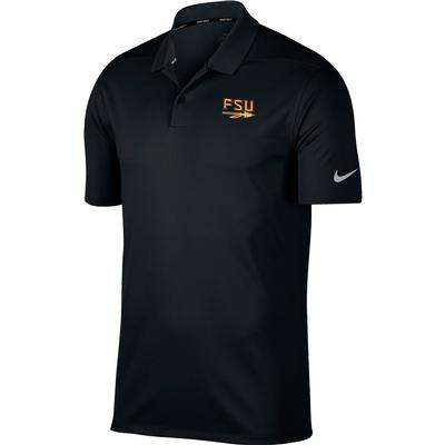 Florida State Nike Golf Arrow Logo Dry Victory Solid Polo