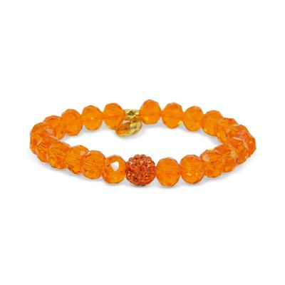 Erimish Orange Andrew Stackable Bracelet