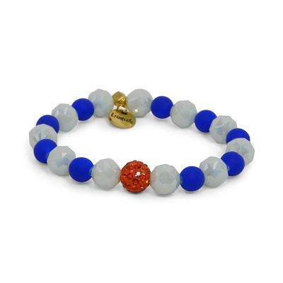 Erimish Blue and White Athens Stackable Bracelet