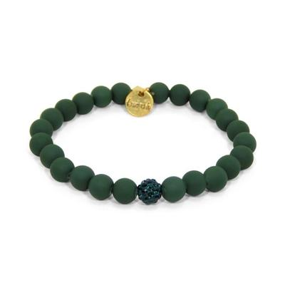 Erimish Hunter Green Brittany Stackable Bracelet