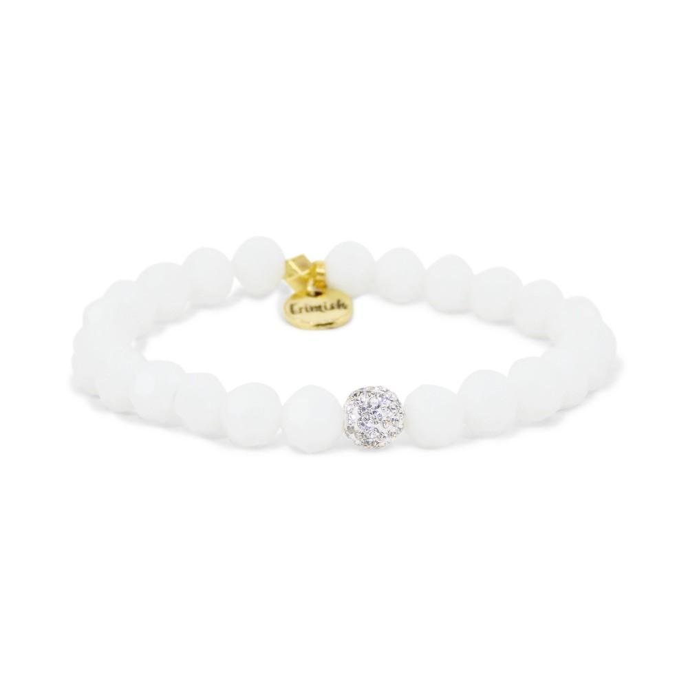 Erimish White Bunny Stackable Bracelet