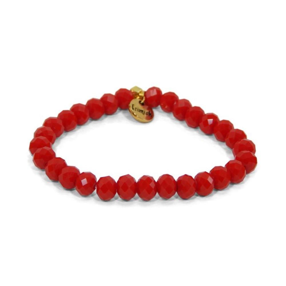 Erimish Red Deb Stackable Bracelet