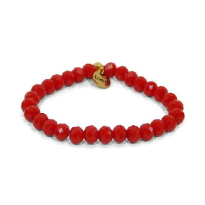 Erimish Red Deb Stackable Bracelet