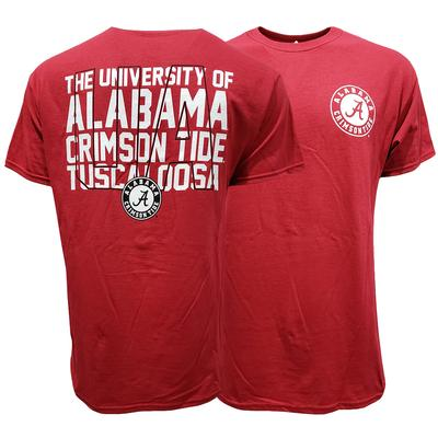 Alabama Large Filled Stack T-Shirt