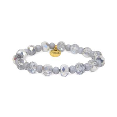 Erimish Silver Eclipse Stackable Bracelet