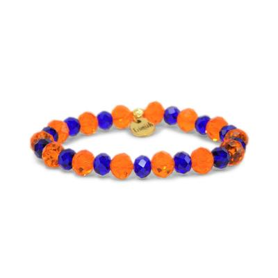 Erimish Blue and Orange Flo Stackable Bracelet